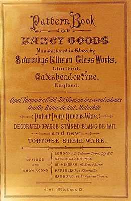 1882 Sowerby pattern book