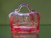 Sowerby Pink Opalescent Glass, image courtesy Jonathan Blood-Smyth, www.englishpressedglass.com