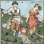 Sowerby Nursery Rhyme pattern 1281 - Jack and Jill