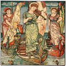 Walter Crane - I Saw Three Ships